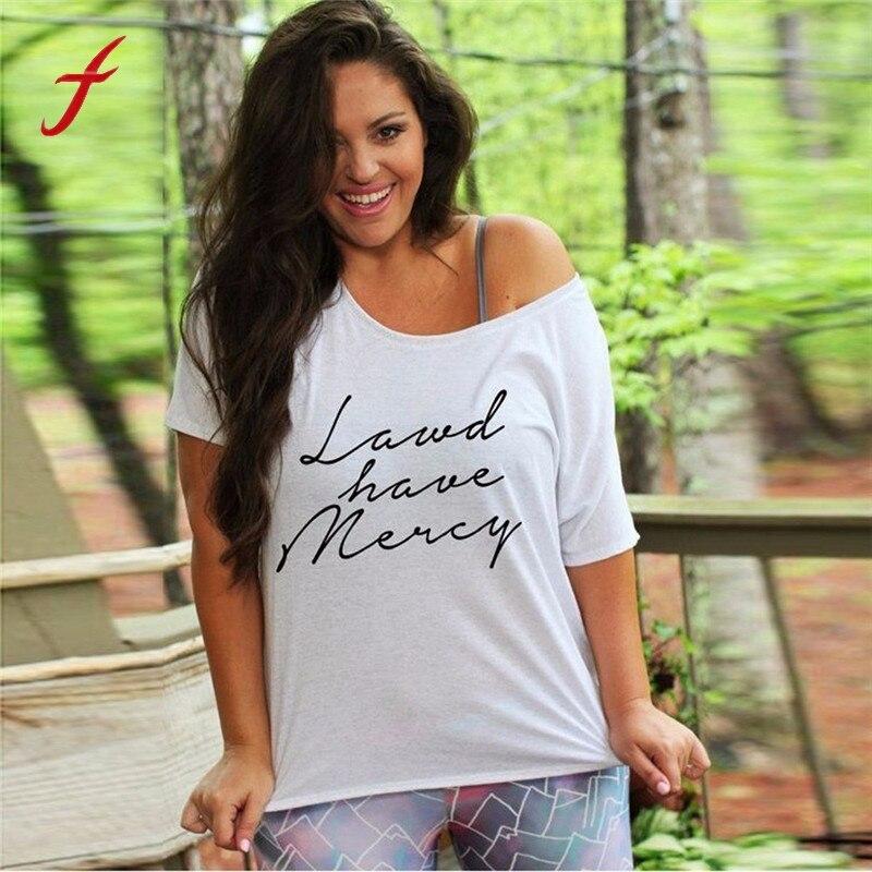 Womens Blusas Large Plus Size L-5XL Letters Printed Short Sleeve Shirt Tops Blouse Cotton Body Blouses Women Top Cloth For Women