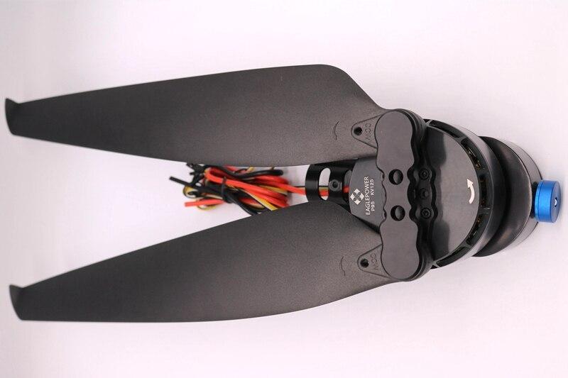 1Set Eaglepower P80pro Plant Agriculture UAV Drone Power Kit EP 80A ESC+8018KV105 Brushless Motor+29''Props+Motor Seat+LED Light - 3