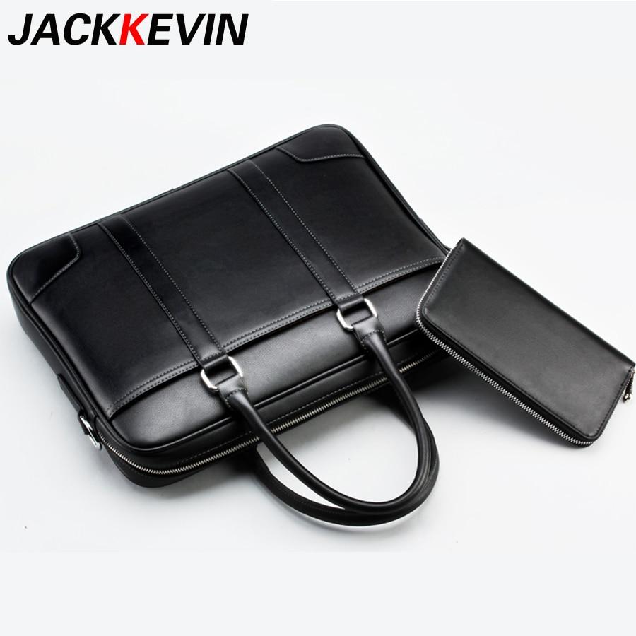 2018 Brand Men Bag Casual Men's Briefcase Shoulder Bags Laptop Crossbody Messenger Bag Men Leather Cowhide Men Crossbody Bag