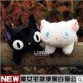 2 ШТ. бесплатная доставка розничная 15 см Японии Аниме Ghibli Kikis доставка Jiji CAT Плюшевые игрушки милые мягкие мягкие кукла