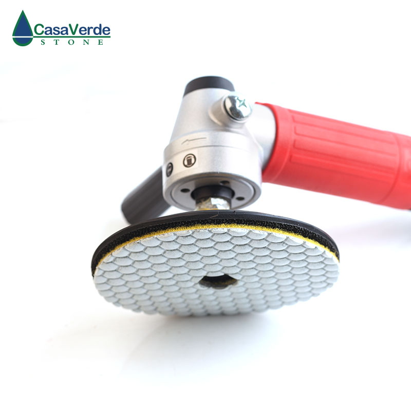 DC-AWHPP03 5 colių 125 mm deimantų sauso poliravimo pagalvėlės - Elektriniai įrankiai - Nuotrauka 6