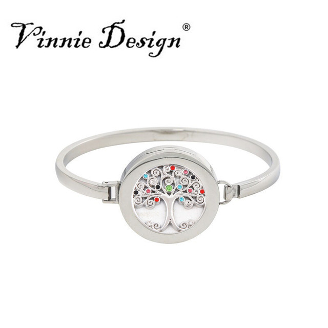 Stainless Steel Silver Bangle with 25mm Interchangeable Small Coin Disc Plain Cuff Coin Bangles Bracelets Women Fashion Jewelry