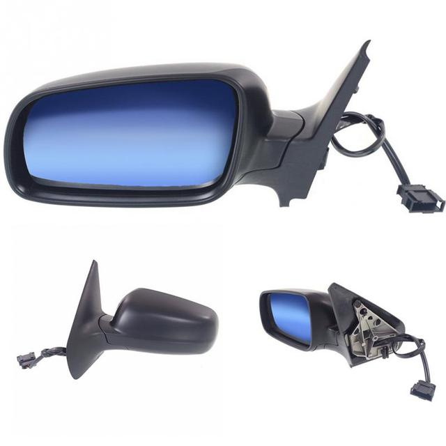 Car Exterior Right Electric Rearview Mirror Aspheric For VW Bora 99 05