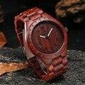 Uwood UW1001 Nova Chegada Sandália de Madeira Relógios Mens Relógios Top Marca de Luxo Casual Relógios relojes mujer de Negócios presentes Criativos