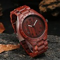 Uwood UW1001 Nueva Llegada Sandal Wood Relojes Para Hombre Relojes de Primeras Marcas de Lujo Casual Relojes Relojes de mujer de Negocios regalos Creativos