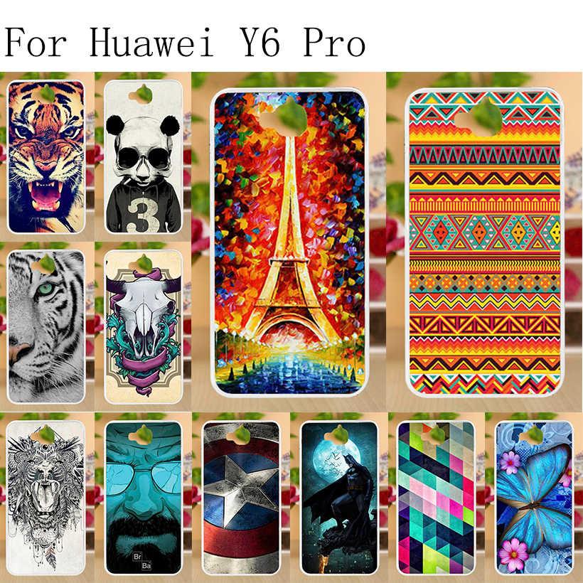 """シリコン Tpu ケース Huawei 社 Y6 プロカバー電話ケース Huawei 社の名誉 4C プロ TIT-AL00 ホリー 2 プラス乳 U02 l01 Honor4C プロ 5.0 """"バッグ"""