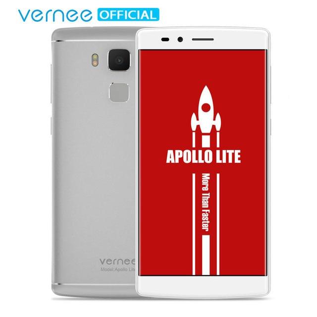 Vernee Apollo Lite мобильный телефон Android 6.0 MT6797 Дека-Core 5.5 Дюймов Основная Камера 16MP 4 Гб + 32 Гб телефон Сенсор Отпечатков Пальцев Тип-C