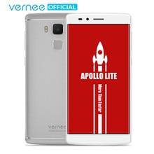 """Vernee Apollo Lite 5.5 """"FHD Mobile Téléphone Helio X20 Deca-Core Android 6.0 téléphones Cellulaires 16MP CAM 4G RAM 32G ROM Type-C Smartphone"""
