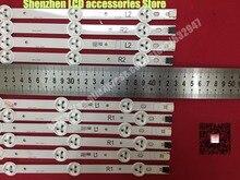 """10 ชิ้น/ล็อต,Original 42 """"LED Strip สำหรับ VIZIO E420 A0 LG 42LN5300 LG 42LN5400 LC420DUE (SF) (R7) R1 + L1 = 6PCS R2 + L2 = 4PCS"""