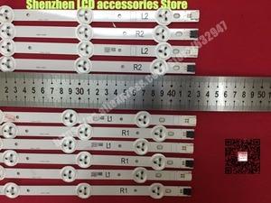 "Image 1 - 10 Pieces/lot,  original 42""LED strip  For Vizio E420 A0 LG 42LN5300  LG 42LN5400  LC420DUE(SF)(R7)  R1+L1=6PCS  R2+L2=4PCS"