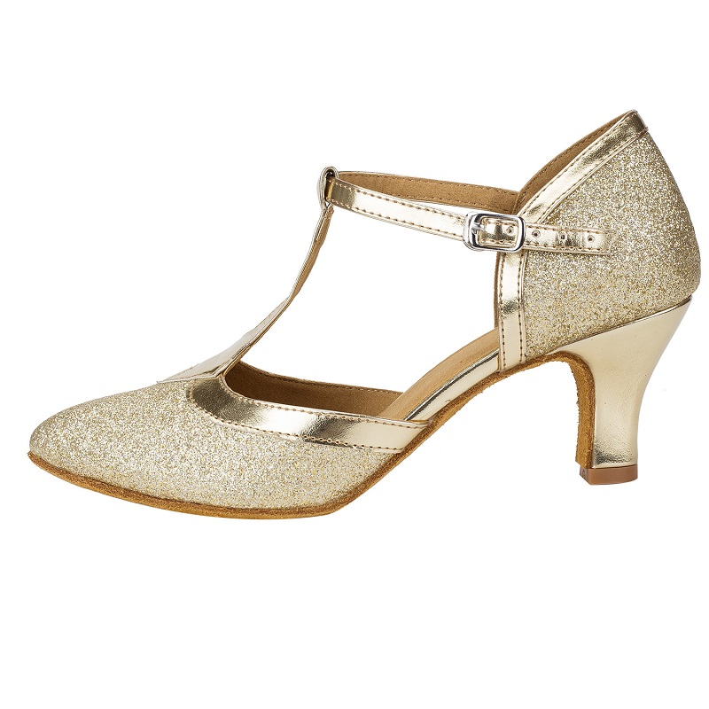 be53e4161135 2017 nuevos zapatos de baile de salón Latino modernos para las mujeres  personalizar los talones brillo Tango Salsa zapatos de Fitness para la  danza plata/ ...