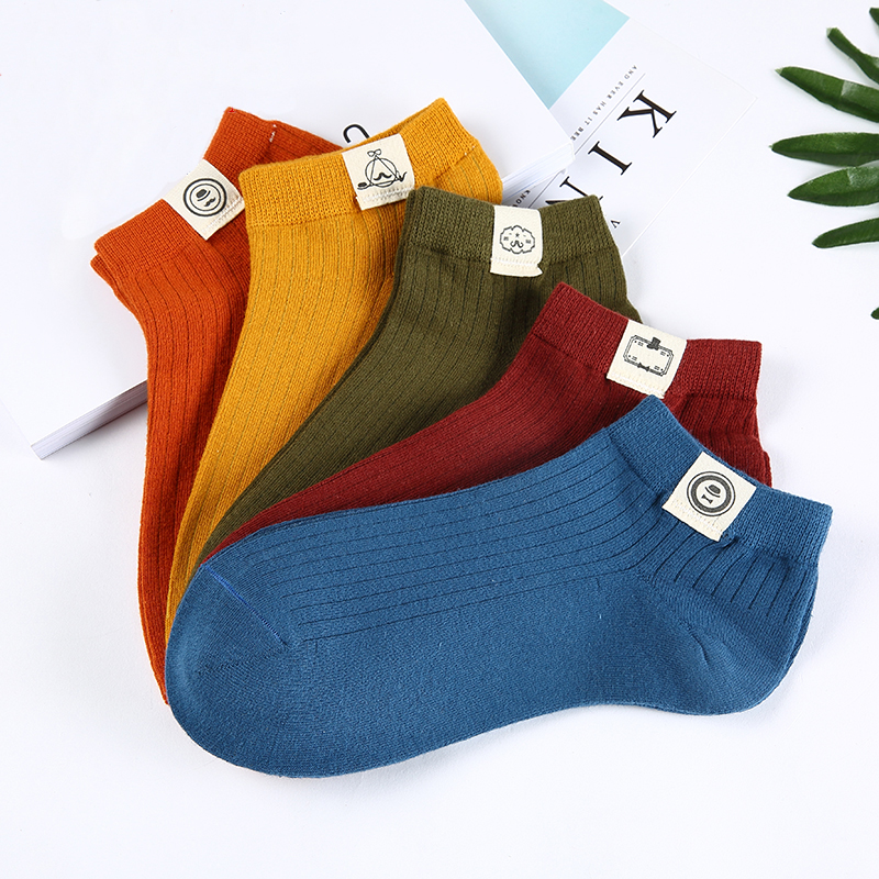 5pairs/lot Men   Socks   Harajuku Street Style Cotton Short   Socks   Men Breathable Funny   Socks   Sox Summer Calcetines Hombre Ankle   Sock