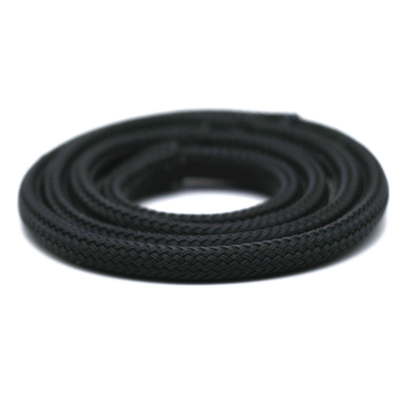 Angitu 10M/Lot Black 2mm PET Braided Sleeving Shielding Braided Sleeving Cable
