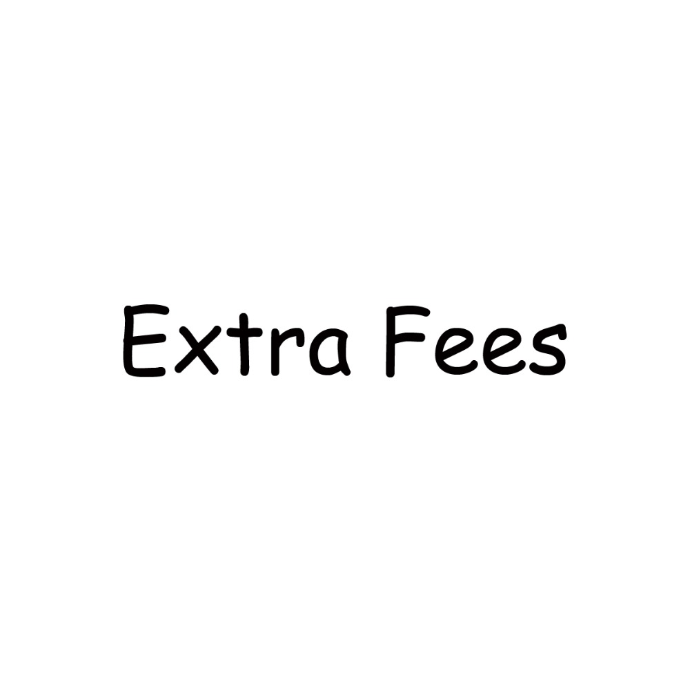 MANLUYUNXIAO Extra Fees for Customized Orders, Supplementary Postage Fees, Supplementary Order Fees