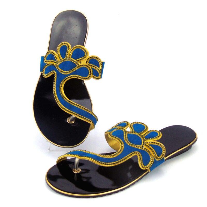 Faible fuchsia Pour Chaude Livraison lake Strass Chaussures dark Vente Robe Style Talons Gratuite Abs1118 rouge Partie bleu Blue Pantoufle Noir Femme Blue Nigeria Spéciale Commande eErdBoWQxC