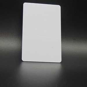 Image 5 - 1000 teile/los Mi fare1k s50 13,56 MHZ F08 IC NFC Tag Weiße Karte Access control DHL Kostenloser versand