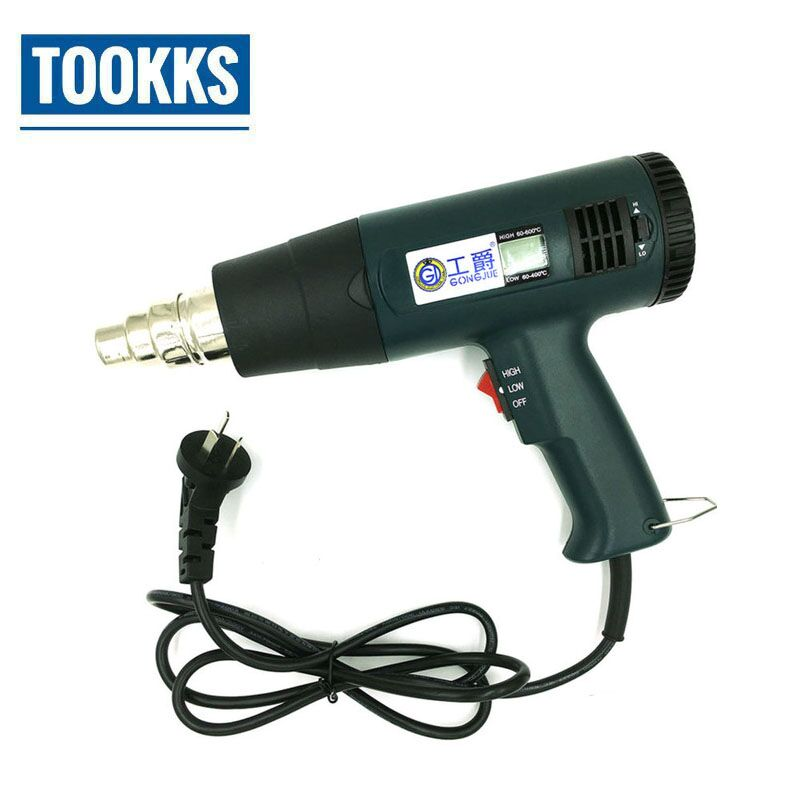 AC220V-240V 1600W Heat Gun GJ-8016 Adjustable Temperature Digital Display Bga rework Desoldering Hot Air gun jialuowei new extreme 18cm 7 high heels fetish sexy ballet boots sex matt zip wedges leather over the knee thigh high boots