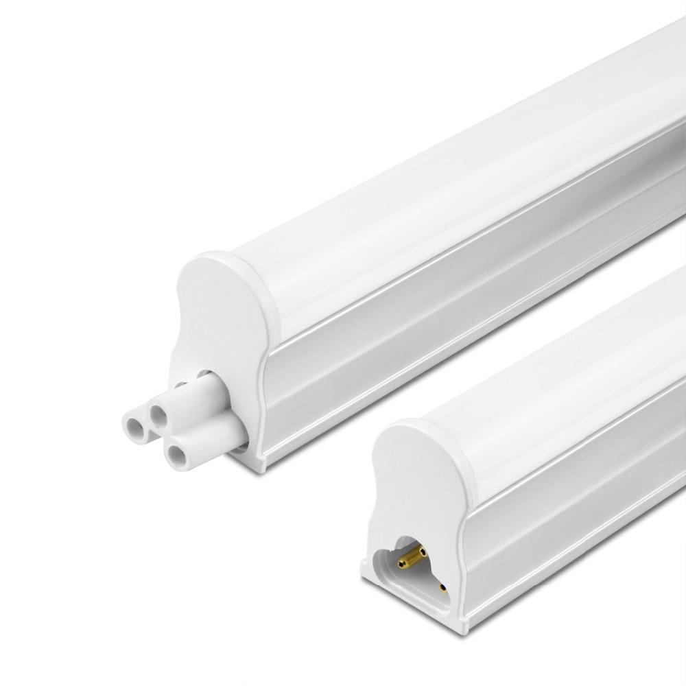 medium resolution of led tube t5 lamp 220v led tube light 29cm 57cm led fluorescent tube light pvc plastic lampara ampoule led tube kitchen lighting