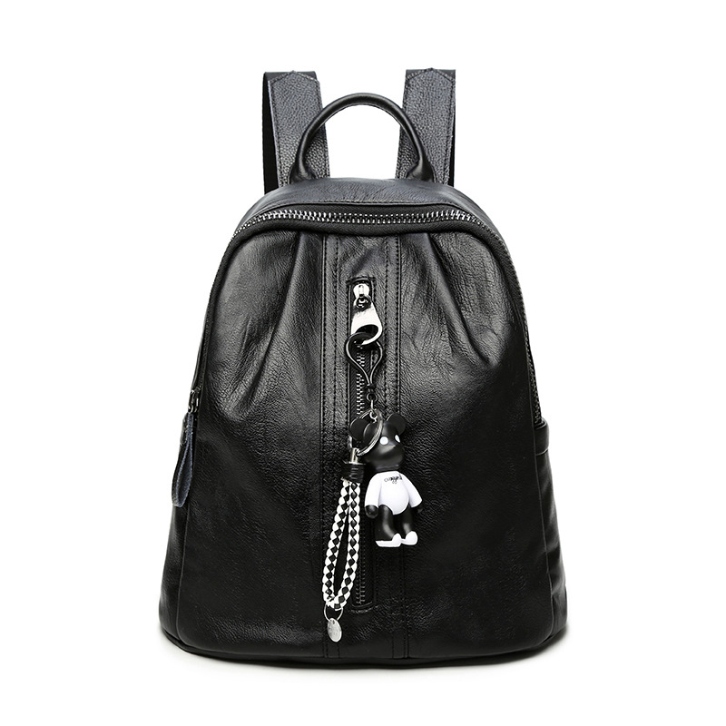 Waterproof PU Leather Women Backpack Small Cute School Shoulder Bag For Teenager Grls Female Backpacks mochila women fashion high quality small travel bags lady cute black pu leather backpack with solid bag teenager cute backpack