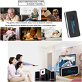 Transmisor de Música Estéreo de Audio Bluetooth 3.0 Adaptador Dongle para Smart TV PC DVD
