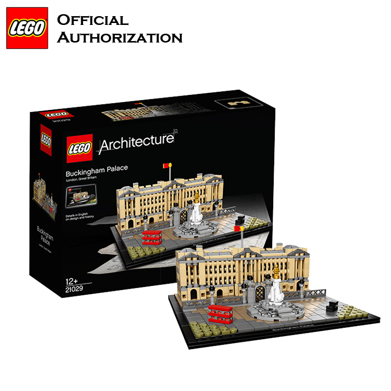 Lego Architecture Series 780pcs Building Blocks Toys Buckingham Palace Building Toys For Travel Gift Souvenir Brinquedos lego architecture series city building blocks toys paris louvre building toys a tourist souvenir for lego travel toys brinquedos