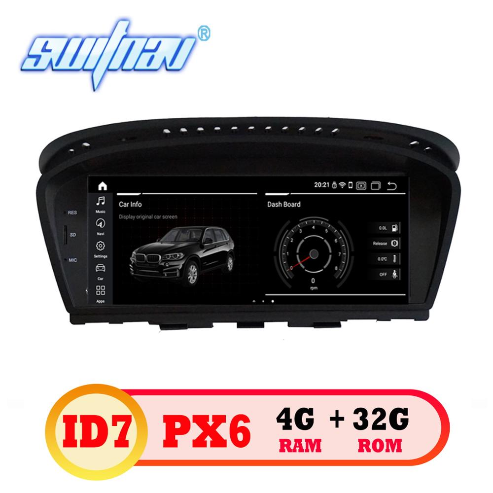 Android 9 0 ID7 6 core CAR player FOR BMW 5 Series E60 E61 E63 E64