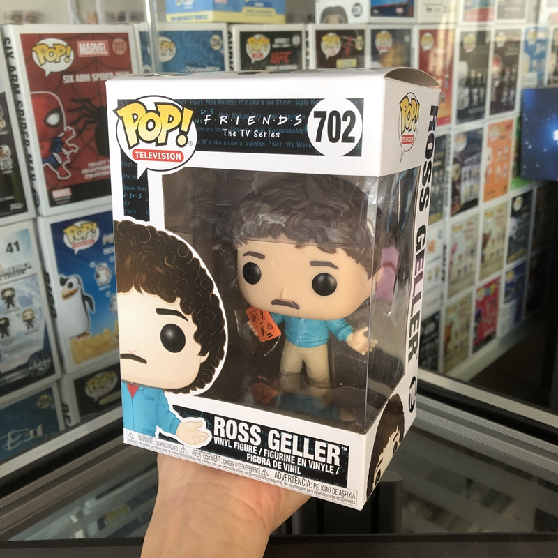 Funko pop Official Television: Friends - Too Tan Ross Geller Vinyl Action Figure Collectible Model Toy with Original Box
