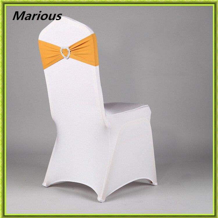 Marious Marque Spandex Chaise De Mariage Couvre Bureau Ceintures Lycra Prsident Bandes Dcoration Nantong