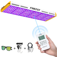 FINEEST Led Grow Light Full Spectrum 3000W Remote Control reflector led for indoor plants timer veg bloom timer group control|LED Grow Lights| |  -