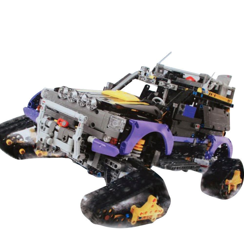 Lepin 20057 2050Pcs Genuine Technic Mechanical Series 42069 The Ultimate Extreme Adventure Car Set Building Blocks Bricks Toys 2050pcs 2in1 techinic extreme adventure