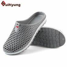 aca8163a4e62 Suihyung 2018 Men Summer Shoes Breathable Mesh Hole Beach. US  6.76   Pair Free  Shipping