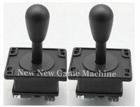 2pcs/Pack, High Quality Amusement Cabinet Games Machine Parts Accessory Black Arcade Joysticks Stick