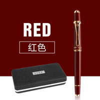School Office Stationery Supplies Duke Luxury Wine Red And Gold Clip Rollerball Pen 0 7mm Metal