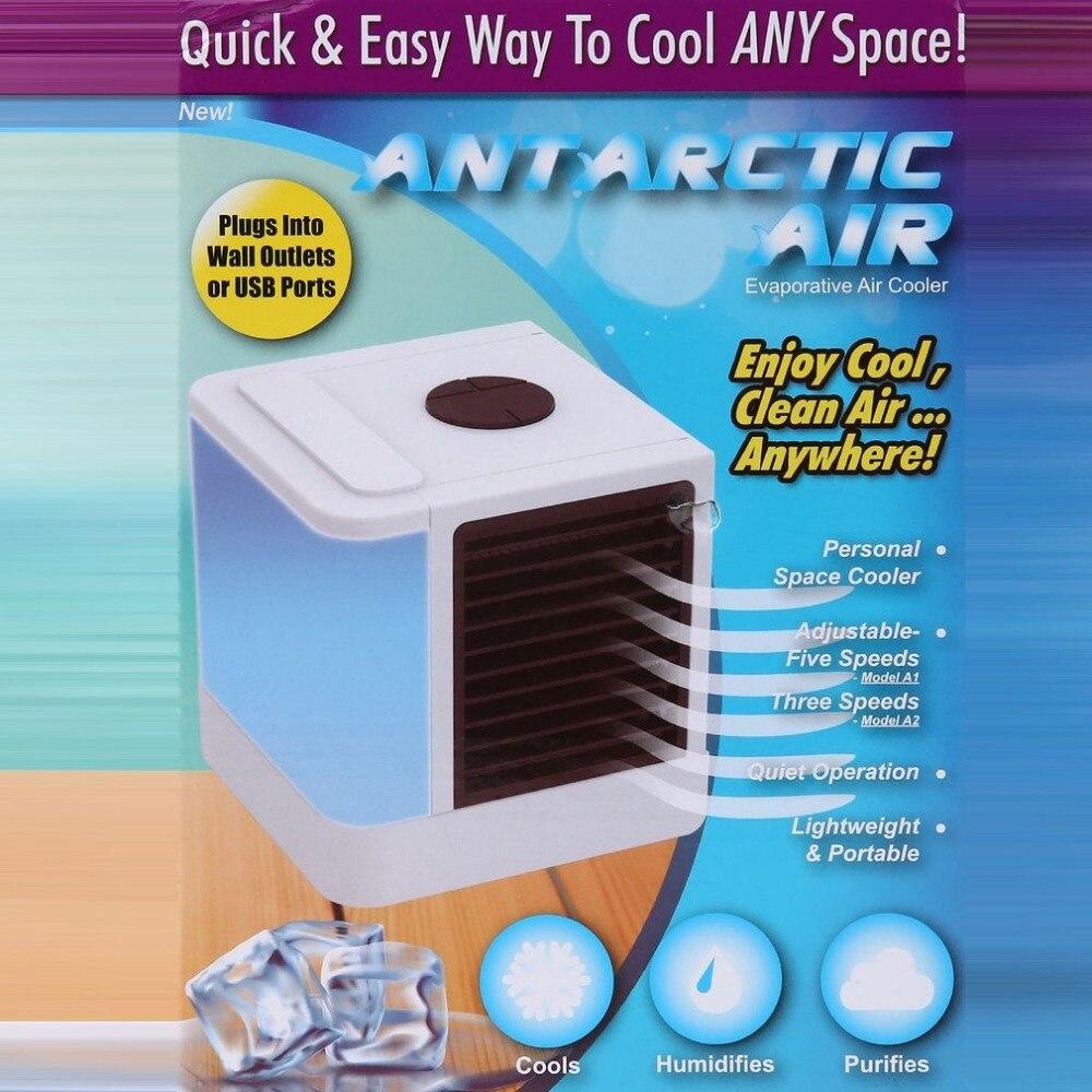 USB Mini Refroidisseur D'air Humidificateur Purificateur 3 Modes 7 Couleurs Lumière De Bureau Ventilateur De Refroidissement pour Home Office En Plein Air Bureau Air conditionneur