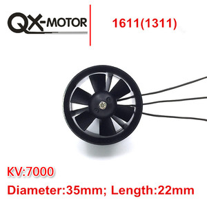 Image 5 - QX MOTOR DIY EDF Ducted Airplane Fan 30mm /50mm/ 55mm / 64mm / 70mm / 90mm with Brushless Motor