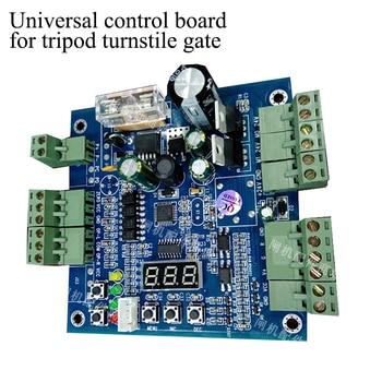 Universal Control board for tripod turnstile gate DC4V two-way traffic turnstile gate circuit board syb 120 universal 700 point circuit board breadboard deep blue