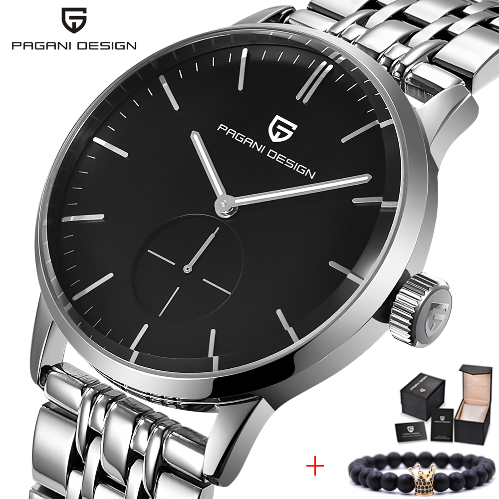 Top Luxury Brand PAGANI DESIGN Men Watches Fashion Casual Business Quartz Watch stainless steel Men Watches Relogio Masculino pagani design top luxury brand watches mens stainless steel band fashion business quartz watch wristwatch male