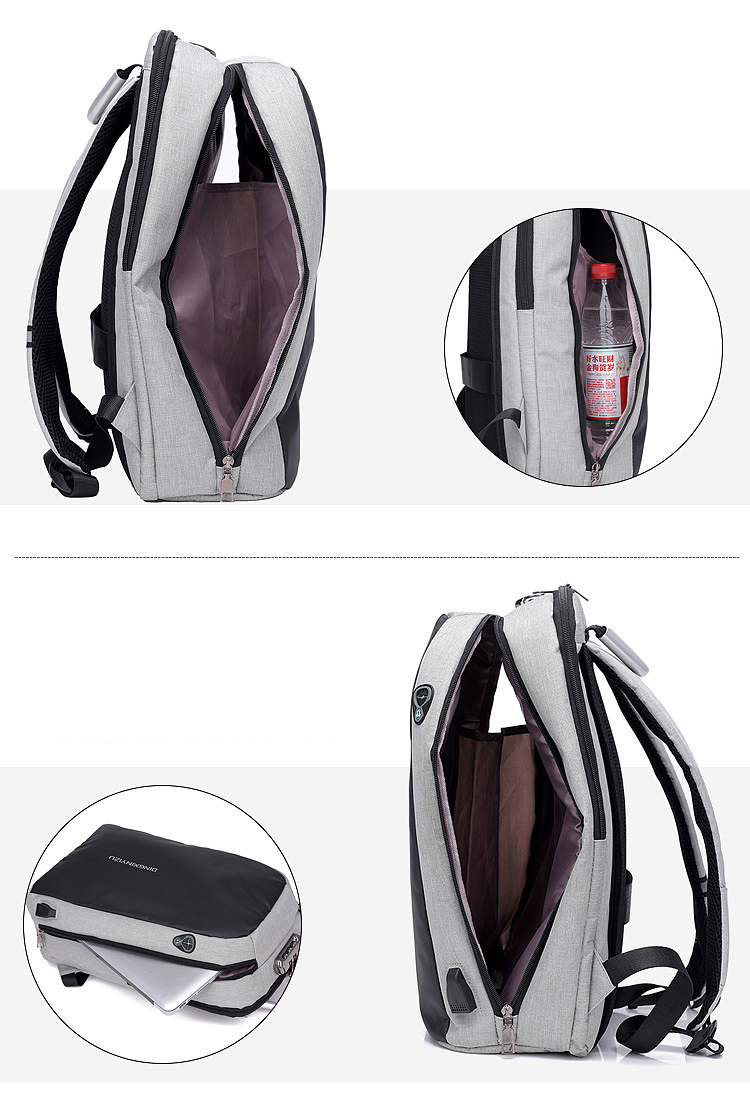 HTB1 8dlhlLoK1RjSZFuq6xn0XXa1 - New Teenager Campus backpack Student multifunctional anti-theft