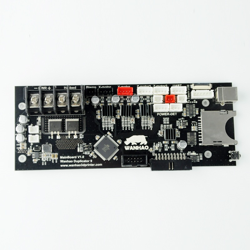 Wanhao 3D Printer Spare parts D9 Mother Borad Main Board Wanhao D9 Original Motherboard цена