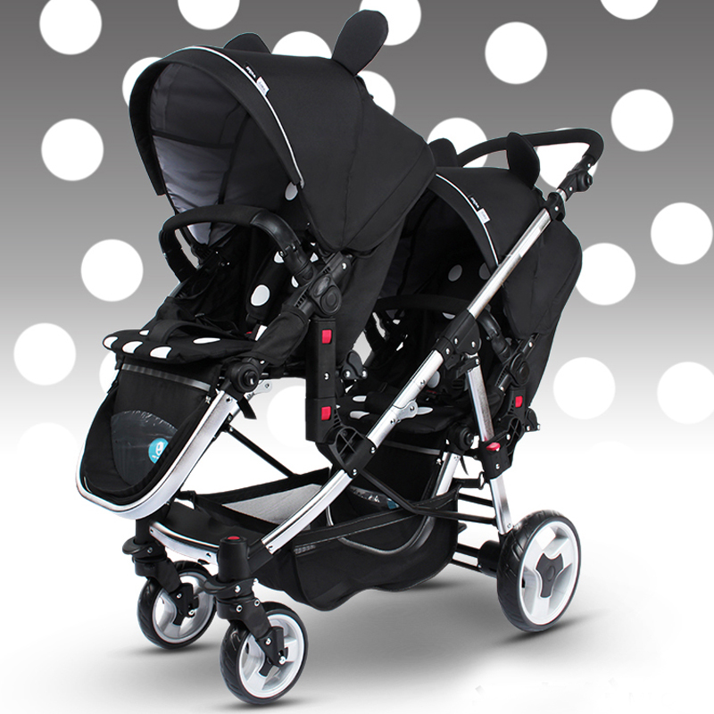 Godmy high quality twin stroller for twins baby stroller 1