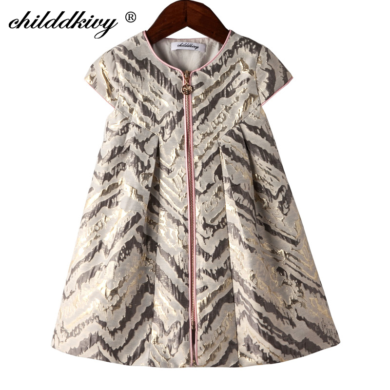 Childdkivy Girls A-line Dress 2018 Spring Baby Girls Princess Dress For Party Kids Dresses For Girls Children Fashion Clothes 2016 spring winter children baby kids girls stripe princess lace mesh dress girls fall sleeveless dresses kids dresses for girls