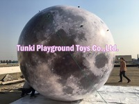 3 Meters Diameter inflatable planet giant hot air balloon inflatable moon for sale