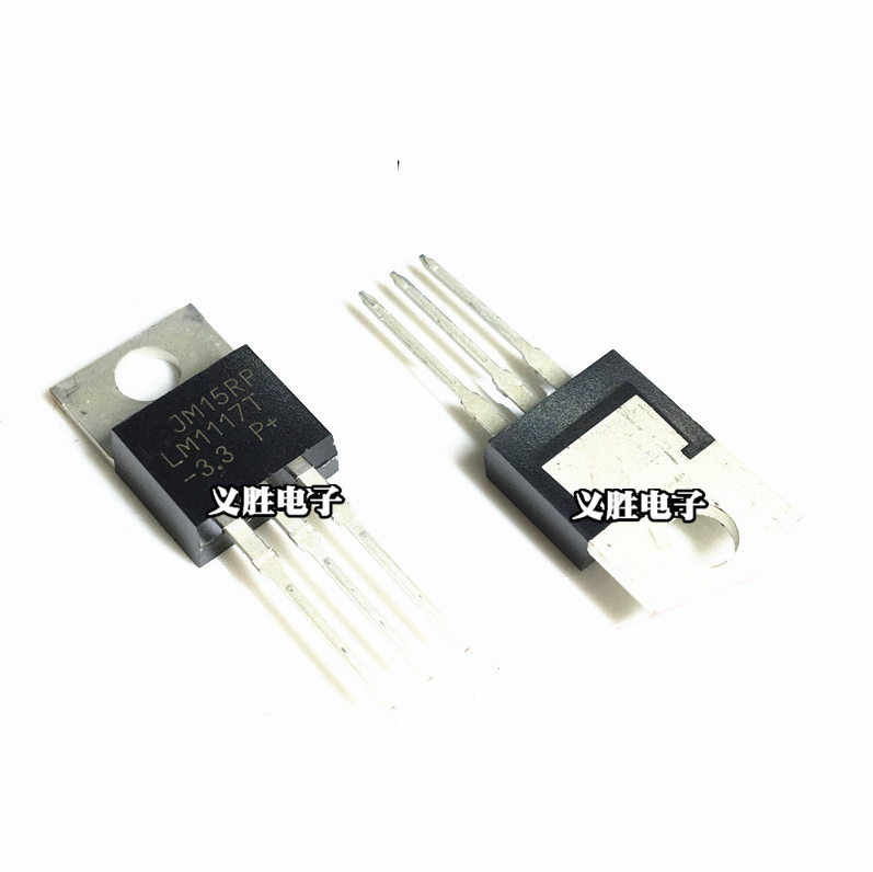1PCS LM1117T-3.3 TO220 LM1117-3.3 LM1117T 3.3V LM1117 TO-220 Chip Regulator Low Dropout 3.3V TO-220 Step-Down Power IC