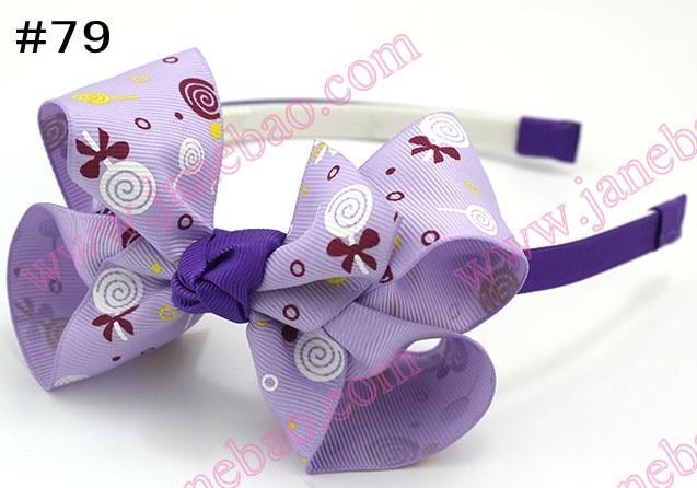 300 шт. 4.5 ''ободки для волос Луки ободки для девочек innfant Бутик Лук ободки