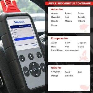 Image 5 - Autel MaxiLink ML609P herramienta de diagnóstico automático lector de código de escáner de coche OBD2 herramienta escaneo código ver congelar marco herramienta de diagnóstico de datos