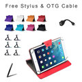 For Wolder miTab LIVE 7.85 inch Tablet Universal PU Leather Cover Case 9 Colors Free Stylus+OTG Cable