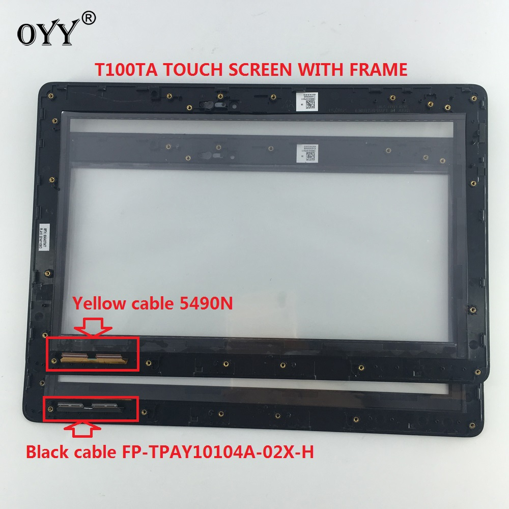 touch screen Digitizer Glass Sensor with frame For 10.1 ASUS Transformer Book T100 T100TA FP-TPAY10104A-02X-H JA-DA5490NB планшет asus transformer book t100ha