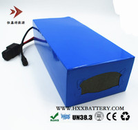 HXX 12V 60Ah Lithium Battery Pack Energy Storage For Emergency Light HID Customization Protection Board 160A