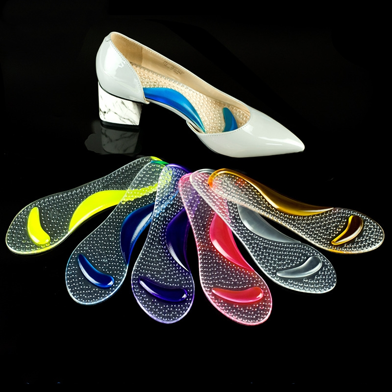 Women Gel Arch Support Anti-slip Massaging Metatarsal Pad High Heels Sholes Orthopedic Insoles Cushion Shoes Accessories