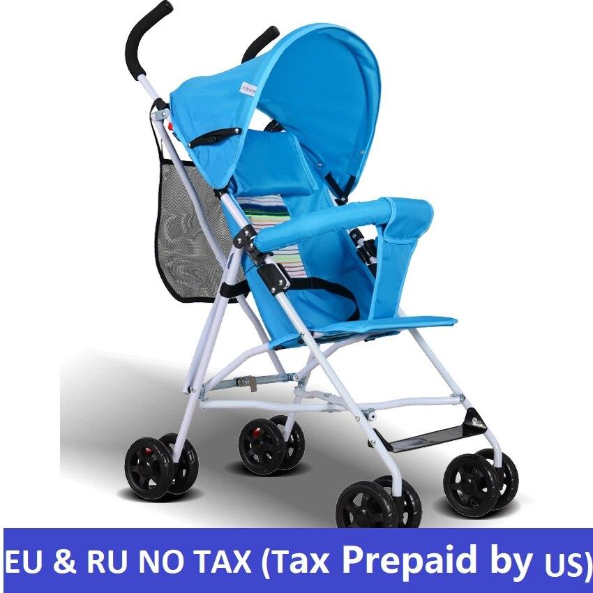 Bambino passeggino ultra-light Estate del bambino auto ombrello portatile pieghevole Passeggini portatile in aereo Trasporto libero